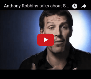 anthony robbins speaks about sleep learning
