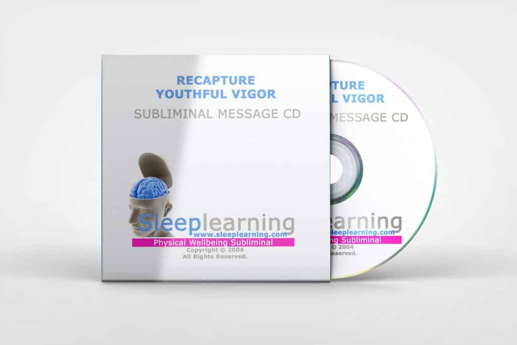 Recapture Youthful Vigor
